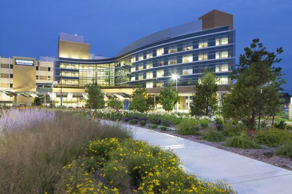 Gundersen Health's flagship Hospital in Lacrosse,